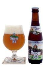 Cerveja Super 64, estilo Belgian Pale Ale, produzida por Brasserie de Silly, Bélgica. 5.2% ABV de álcool.