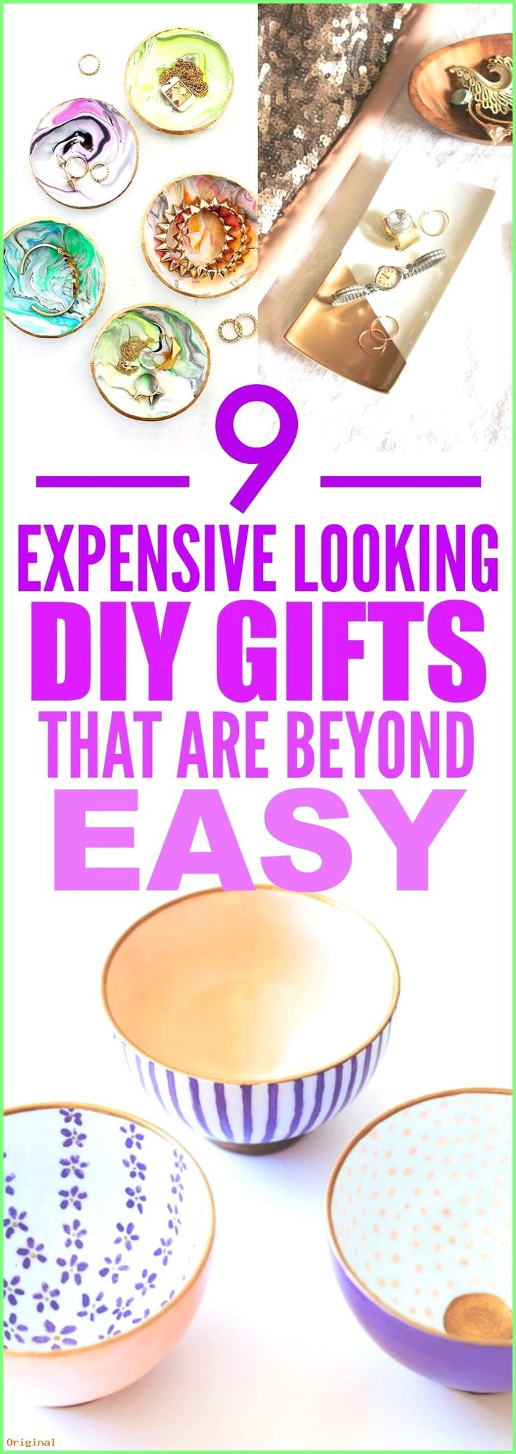 50+ Diy Crafts – These 9 Expensive Looking DIY gifts are THE BEST! I'm so glad I found th…