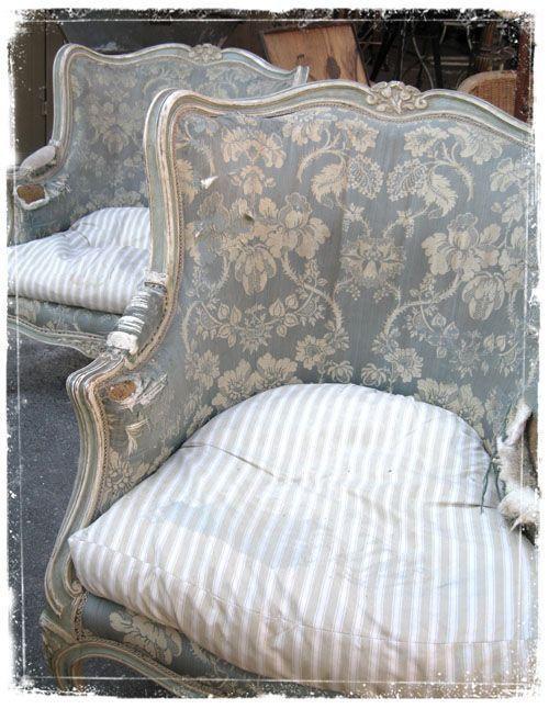 38 Best Stenciled Fabric Burlap Grain Sacks Images On