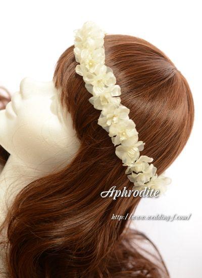 ブログ読者様優先セール第6弾「紫陽花の花冠&ピアス」