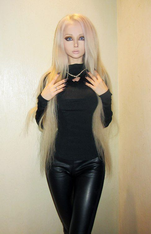 Meet the human Barbie. 27-year old Valeria Lukyanova is blonde, blue eyed, and has an 18 inch waist.