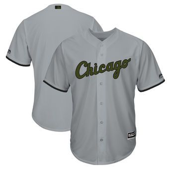 172c07691 Chicago White Sox Majestic 2018 Memorial Day Cool Base Team Jersey - Gray |  MLB | Baseball jerseys, Chicago White Sox, MLB