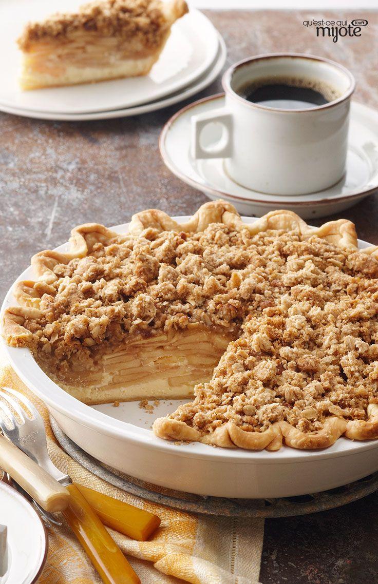 Tarte aux pommes à la hollandaise - Elle marie la tarte à la croustade et devient LA nouvelle façon de faire sa tarte aux pommes !