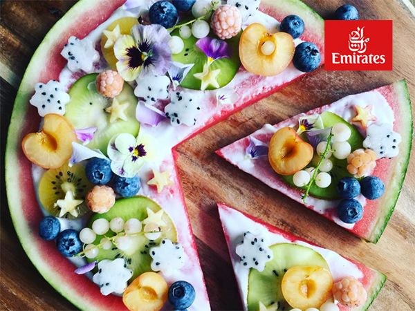 The latest food trend for summer in Australia is the watermelon pizza, which could be one of the prettiest things ever to hit your plate.