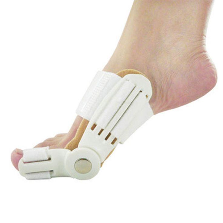 1 Pcs Newest 24 Hours Foot Care Enhanced Big Toe Hallux Valgus Orthopedic Bunion Protector Toe Separator Foot Massager Care
