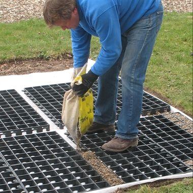 7x5 eco shed base kit