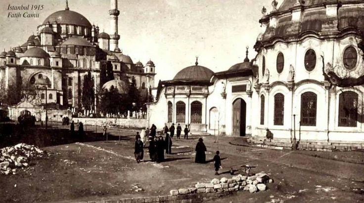 Fatih Camii, 1915