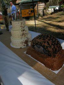 Let's Go Mudding- Wedding Cake Style