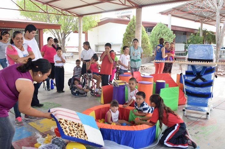 La inversión de 160 mil pesos, en beneficio de 89 niñas y niños con discapacidad, detalla la titular del Instituto, María del Carmen Díaz Chagolla – Huetamo, Michoacán, 20 de ...