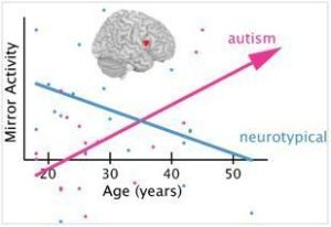 Mirror neuron system in autism: Broken or just slowly developing?