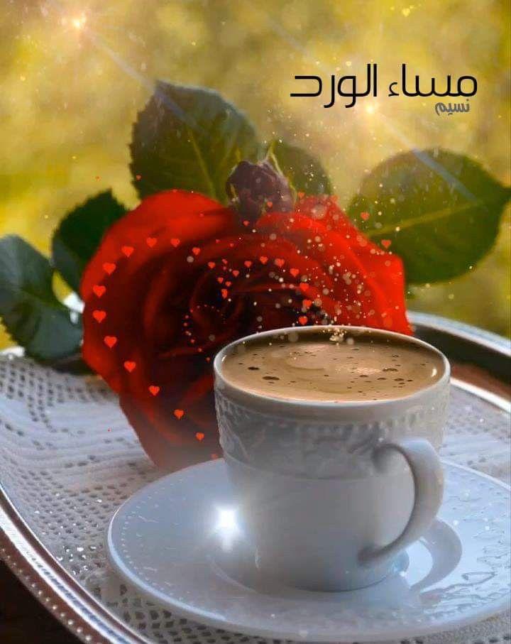 مساء أنيق كـأحاديث من نحب ك كوب القهوة ك أحلامنا صوما مقبولا واف Good Night Flowers Good Morning Flowers Gif Good Morning Beautiful Flowers