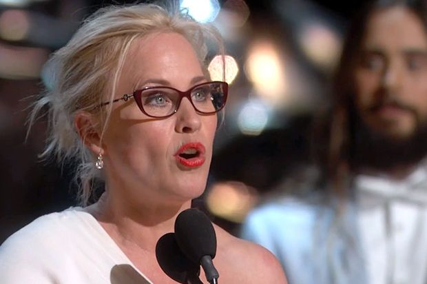"""Patricia Arquette wins the Oscar for """"aging gracefully"""" -- oh, and for her performance in """"Boyhood"""""""