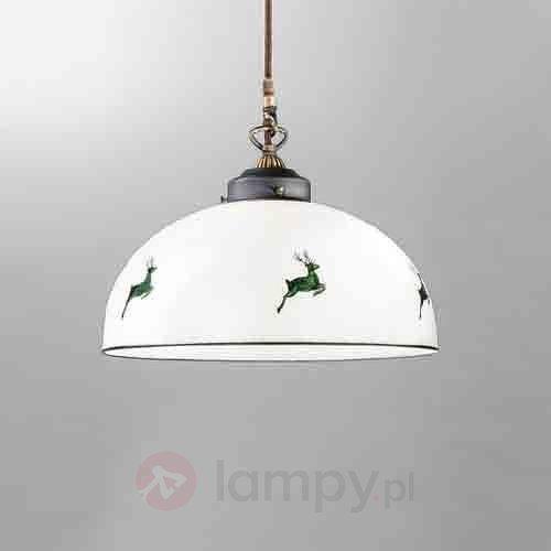 Czarująca lampa wisząca Nonna 30 cm 5560271