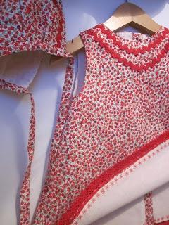 Como coser el vestido de bebé, y modelos sencillos y patrones para principiantes www.anilegra.blogspot.es