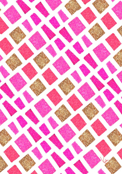 Pink Pattern / PAPERFASHION