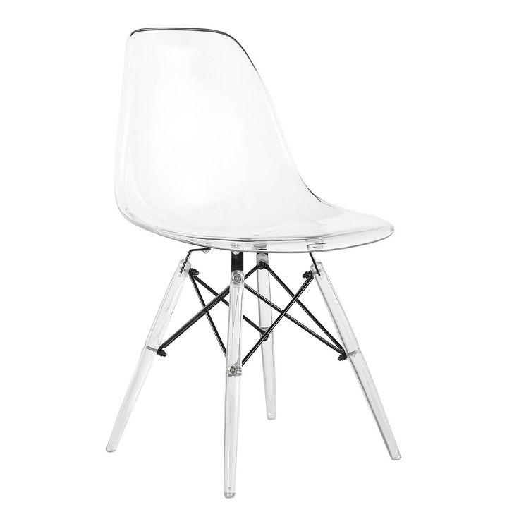 Les 25 meilleures id es concernant chaise plastique transparent sur pinterest - Chaise dsw transparente ...