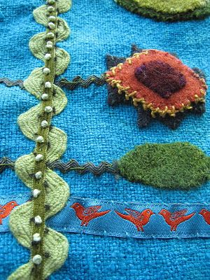 Ric Rac with braid & beads