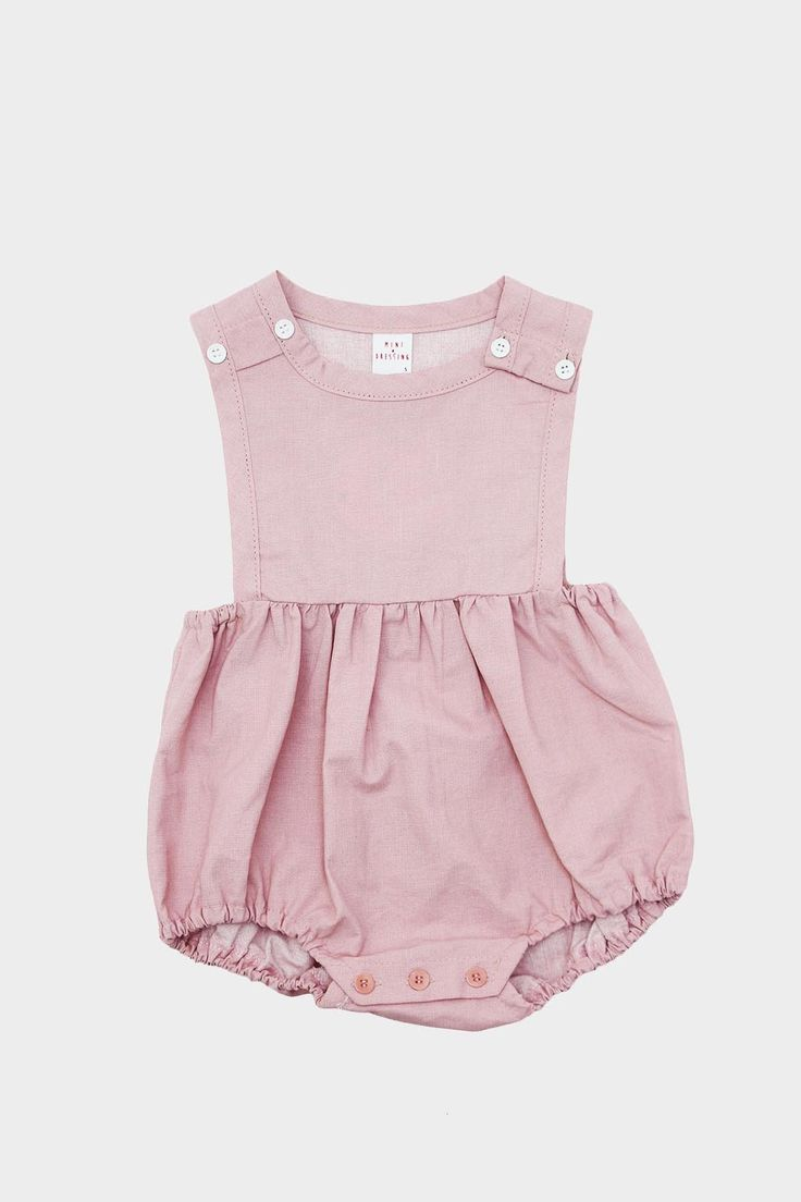 Dorothy Baby Romper Pink