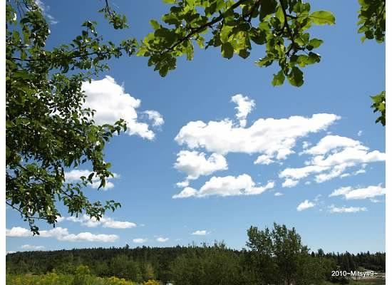 clouds over Dunham Mountain