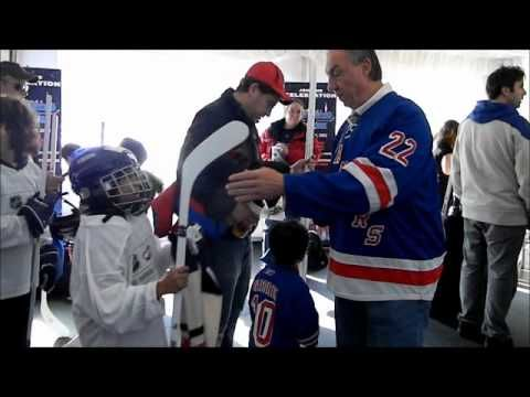 york rangers adam graves skate with greats support ronald mcdonald house