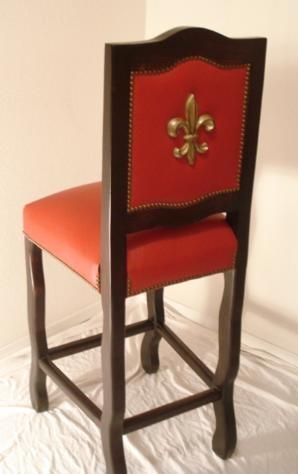 Fleur De Lis Chair Fab Furnishings Pinterest Bar Stools And
