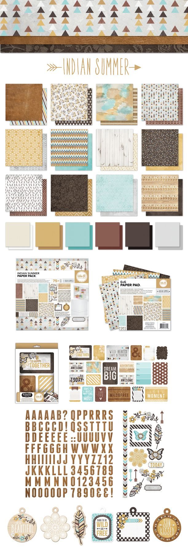 Scrapbook paper collections - Yesterday We Showed You The First Three Collections That Will Be Coming Out From We R Here Are The Next Three Each Collection Comes With Beautiful Papers