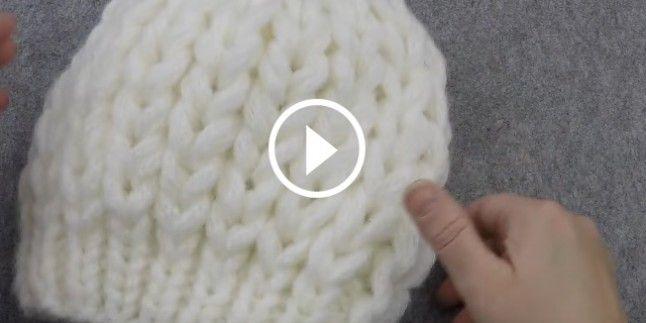 20 Dk Dev İlmekli Bere Yapılışı Videolu Anlatım