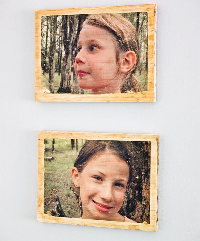 17 best images about on aime le transfert de photo sur bois on pinterest gel medium wood. Black Bedroom Furniture Sets. Home Design Ideas