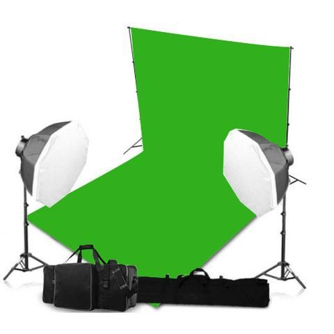 Chroma key background fabric is rich quality cotton yarn which provides the best photographic backgrounds and ensures precision editing with Chroma key software.