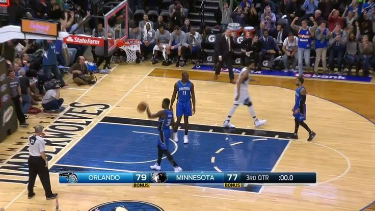 Good if it goes... Shabazz Muhammad drains it at the buzzer!