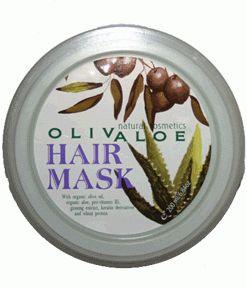 olivaloe hair mask