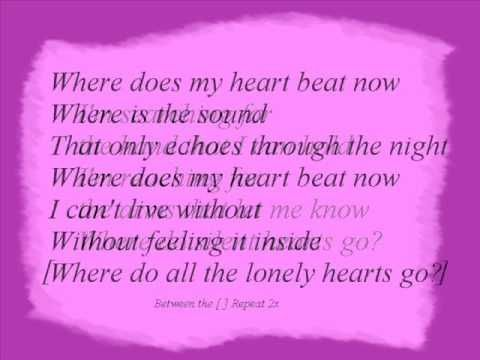 ▶ Celine Dion - Where Does My Heart Beat Now + Lyrics - YouTube
