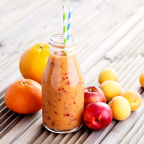 Cremiger Frucht-Mix-Smoothie