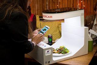 Μίνι φωτογραφικό στούντιο σε εστιατόριο για άριστες λήψεις πιάτων