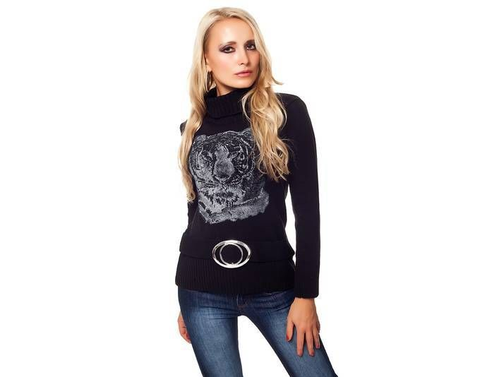 Strick Pullover Rollkragen Sweater Jumper Pulli Schwarz 36/38 Jetzt bestellen unter: https://mode.ladendirekt.de/damen/bekleidung/pullover/sonstige-pullover/?uid=72c281c2-3ff0-55cc-accc-4712717cc277&utm_source=pinterest&utm_medium=pin&utm_campaign=boards #sonstigepullover #pullover #bekleidung