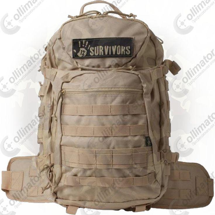 Тактический рюкзак Sightmark TS41000Т с поясной поддержкой (песочный)