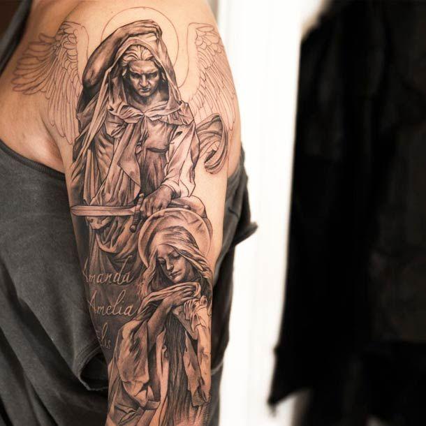 Une sélection des magnifiquestatouages très réalistes de l'artiste tatoueur suédois Niki Norberg, qui réalise des pièces monochromes de toute beauté, a