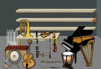Actividades para Educación Infantil: Sonidos de instrumentos musicales EDUCARM