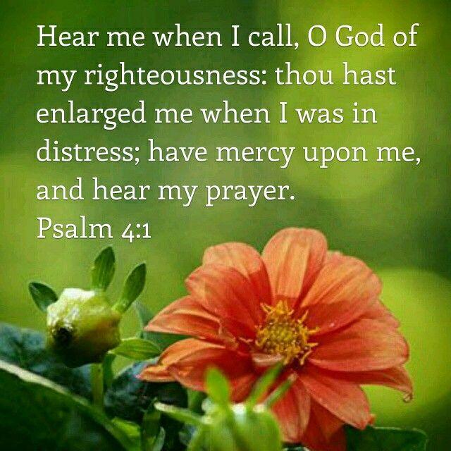 Psalm 4:1 KJV