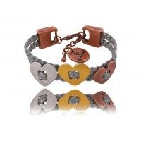 three hearts, one faith/bracelet By Dziubeka