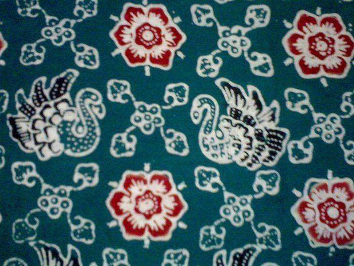 batik jambi motif angso duo