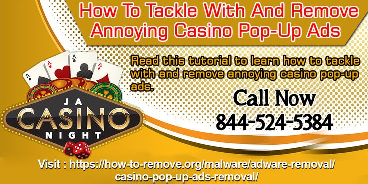 Casino pop-up ads are generated by Casino websites to generate revenue for its developers. Though the ads as such don't pose any risk to our device but they can be very distractive, annoying and sometimes harmful as well. So it is important you should have a sound knowledge of these ads.