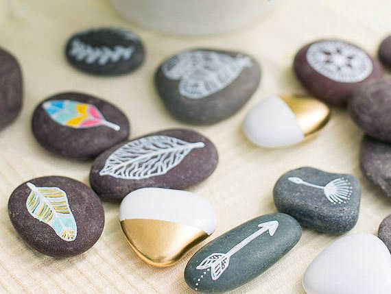 7 Creative Ways To Decorate Rocks