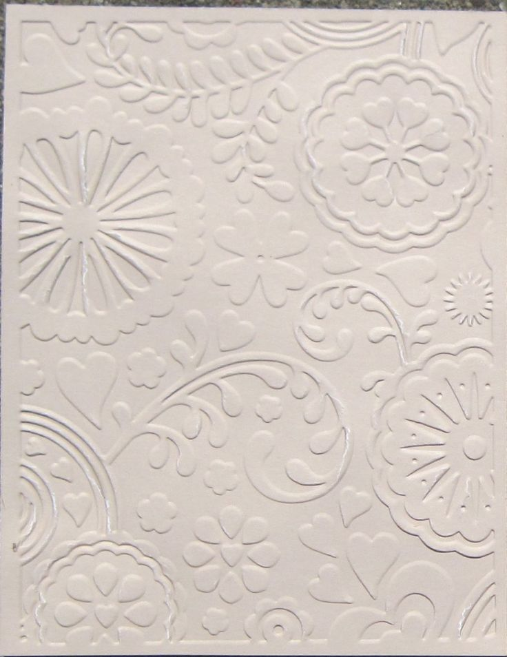 Tips for using embossing folders... really good ideas!