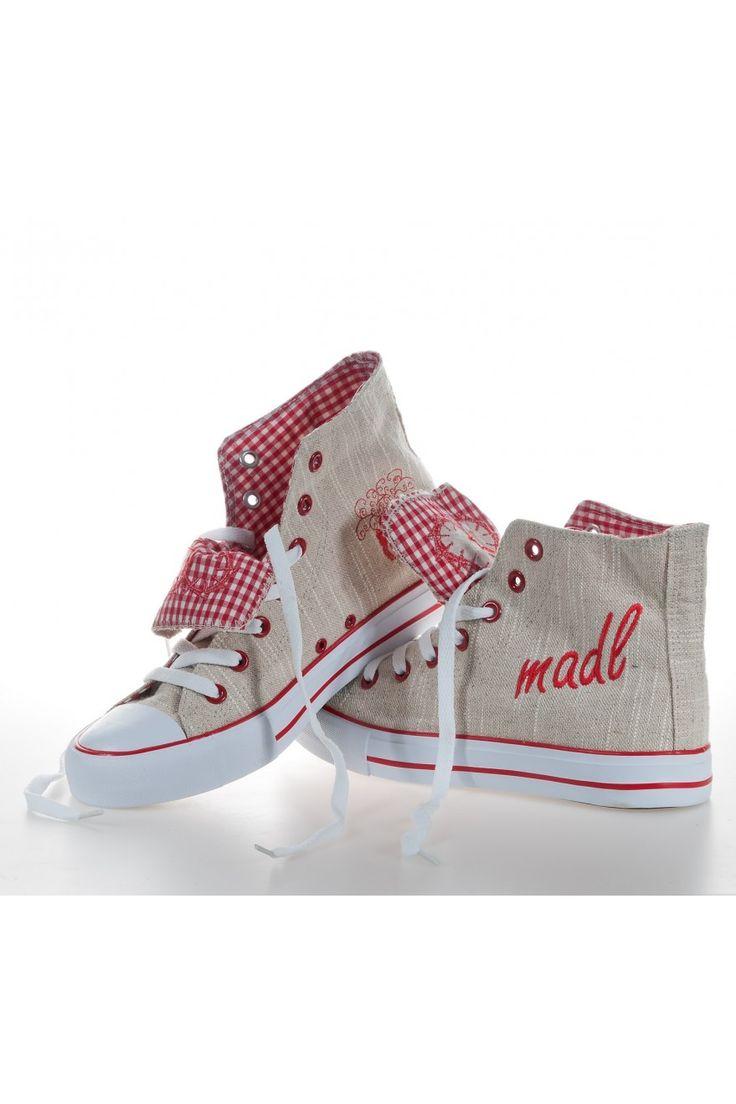 """Damen-Trachten-Sneaker """"Madl"""" Krüger Trachtenschuhe"""