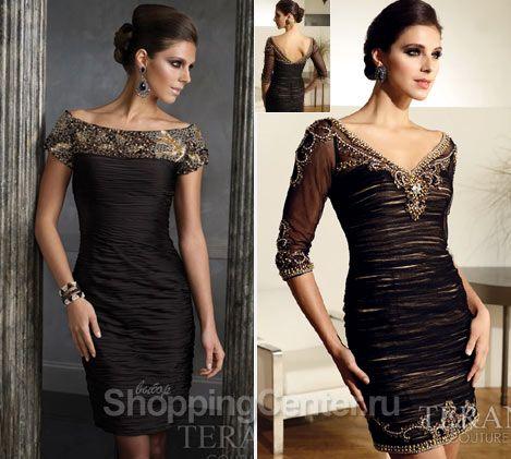короткие платья фото черные