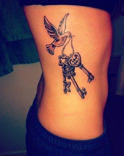 Awesome Lock and Key Tattoo Designs | Tattoo Art Club – Free ...