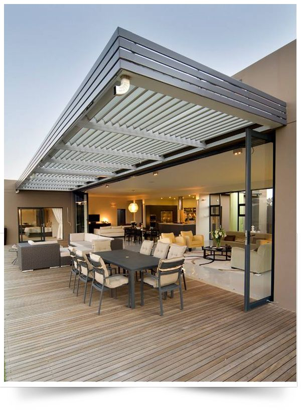 innovative retractable awning ideas
