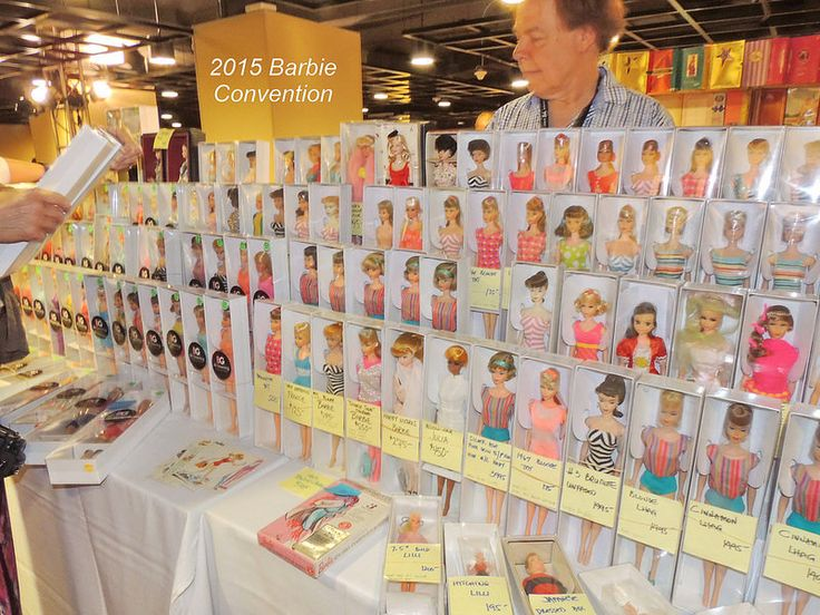 2015 Barbie Convention | Rows of beautiful vintage & Mod Bar… | Flickr