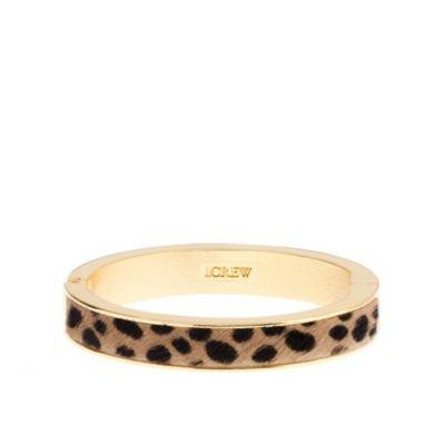 J. Crew Leopard BangleSide Skinny, Leopards Bangles, J Crew, Skinny Bangles, Jewelry, Leopards Prints, Jcrew, Accessories, Wild Side